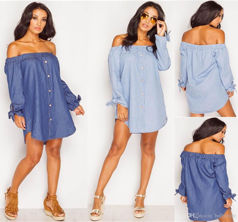 Denim Shirt Dress 2