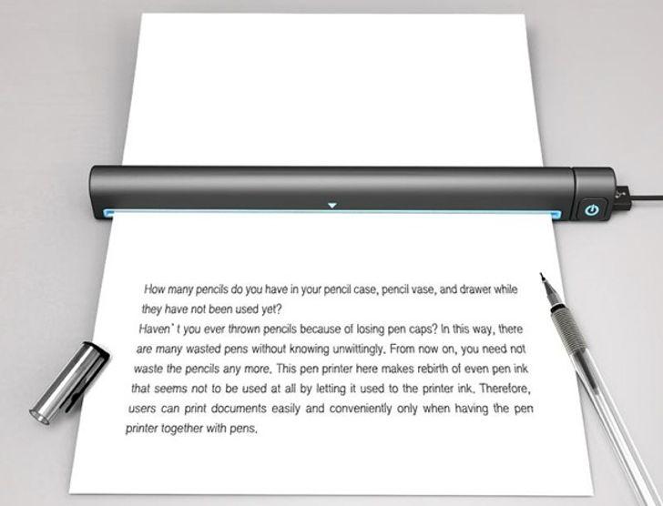 The pen printer