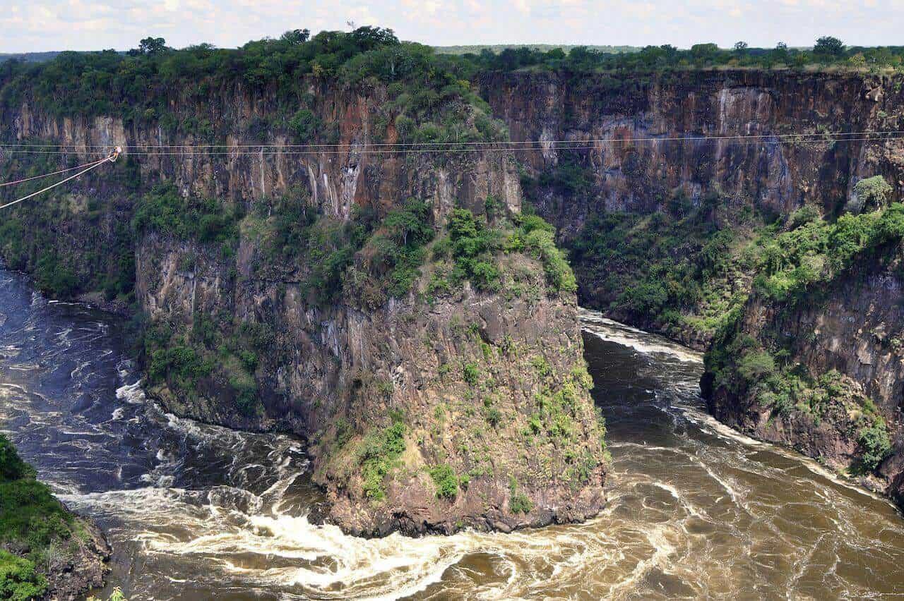 Zambezi River Livingstone, Zambia