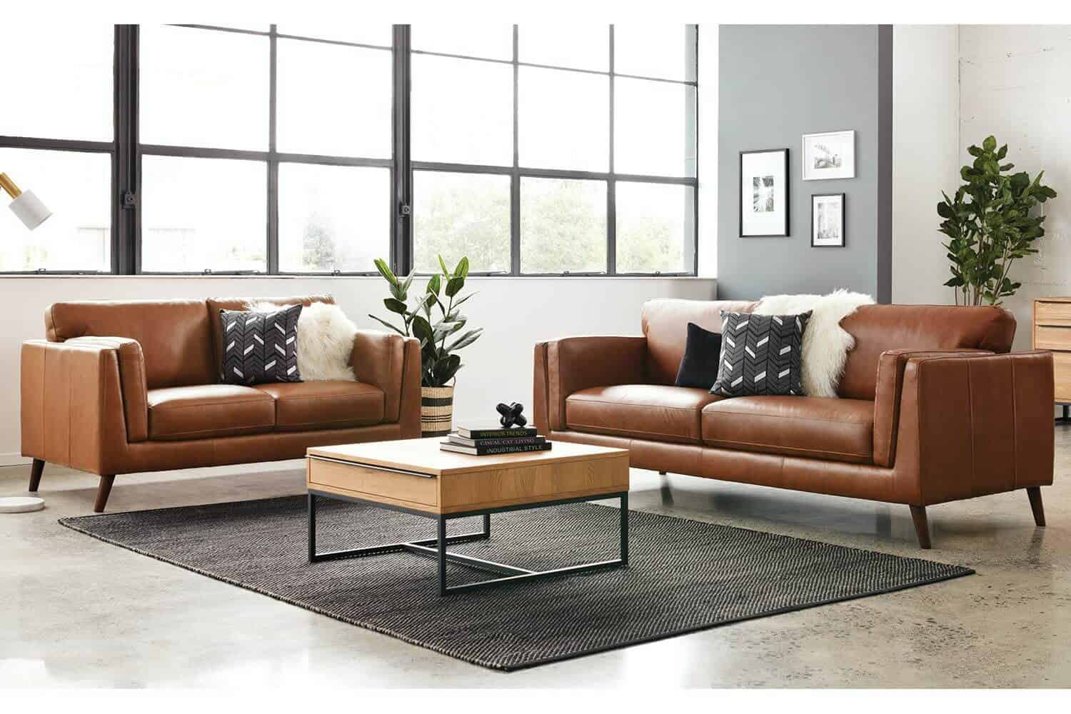 Leather Lounge Suites 4