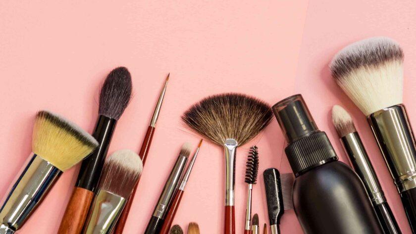 clean makeup tool