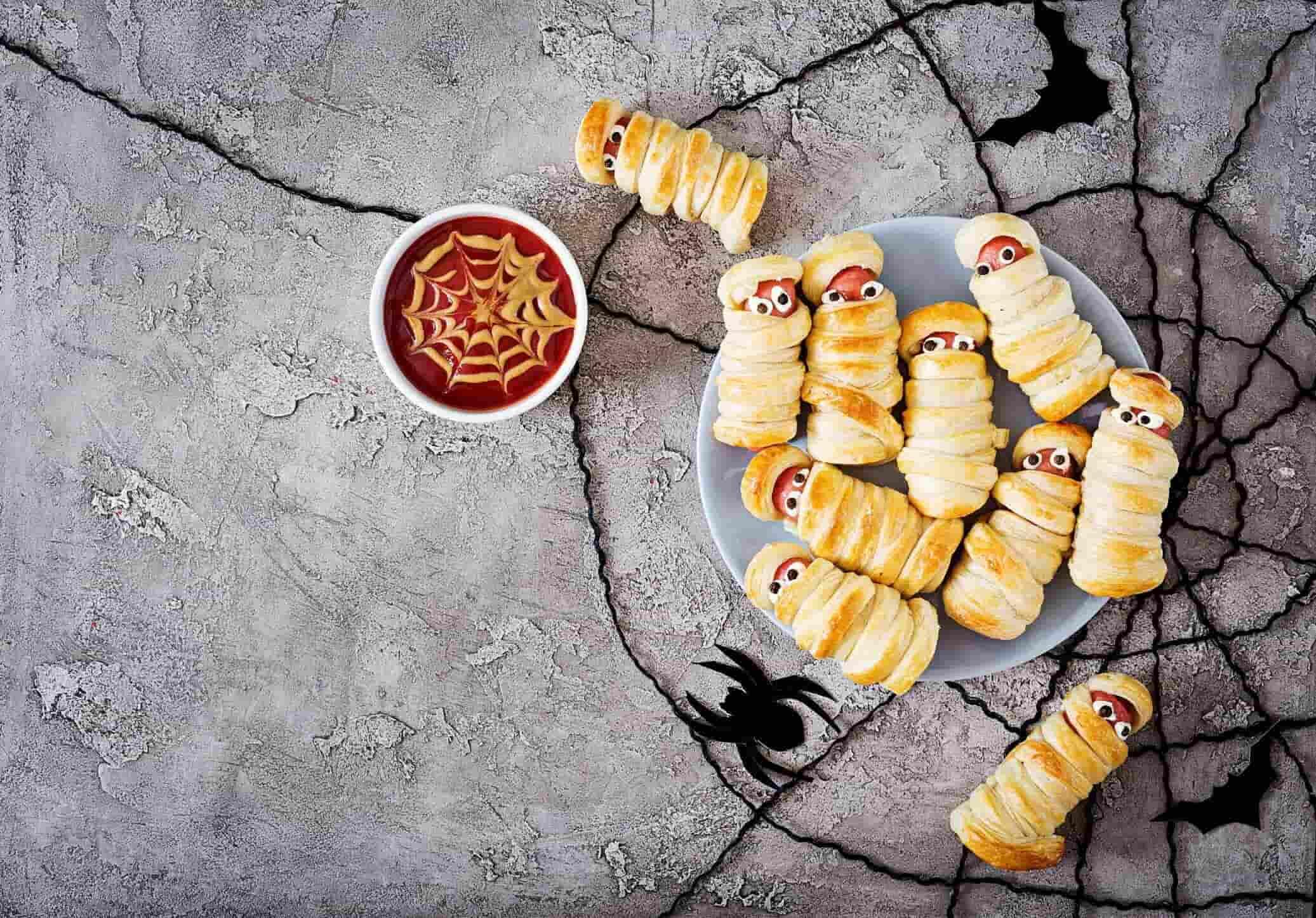 halloween food decoration