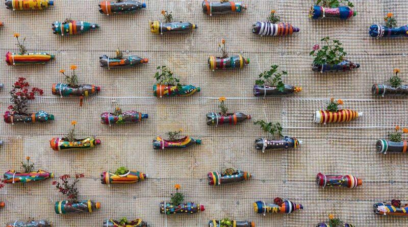 plastic bottle planters