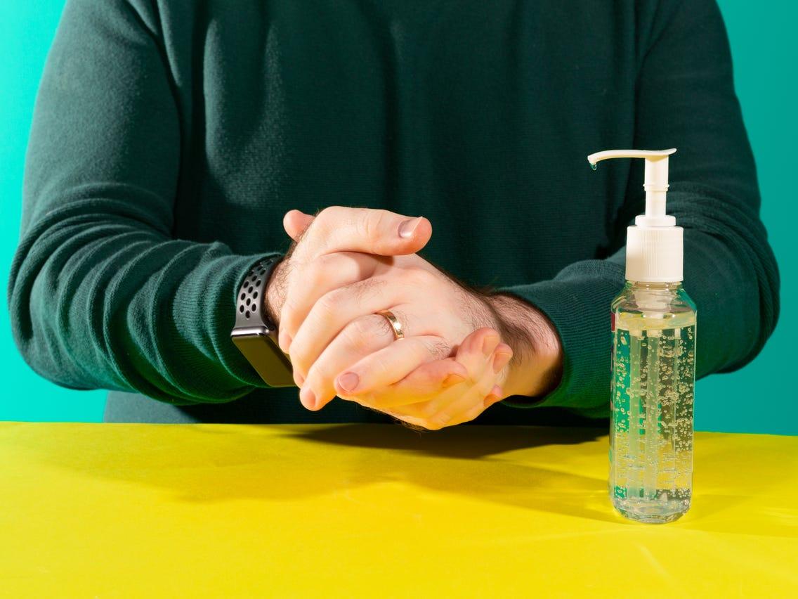 Liquid Sanitizer or Wipes