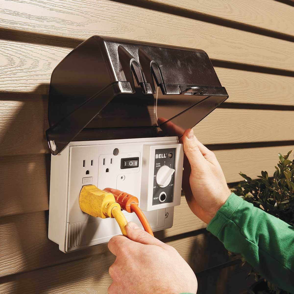 Outdoor Socket at Your Home
