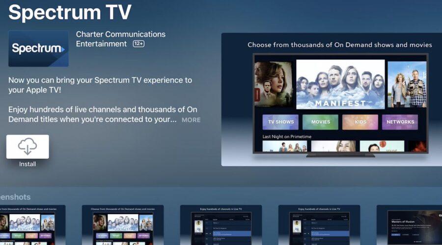 spectrum tv app