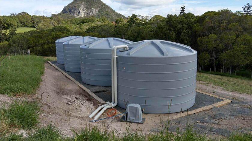 Install Water Tanks