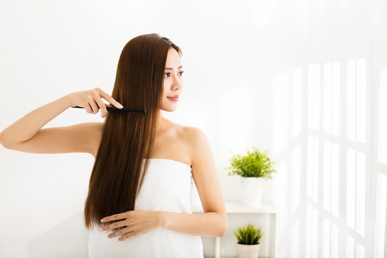 Oil Routinely for Beautiful Hair Inside