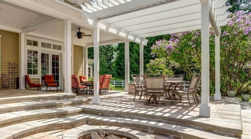 Perfect Time to Get a Pergola