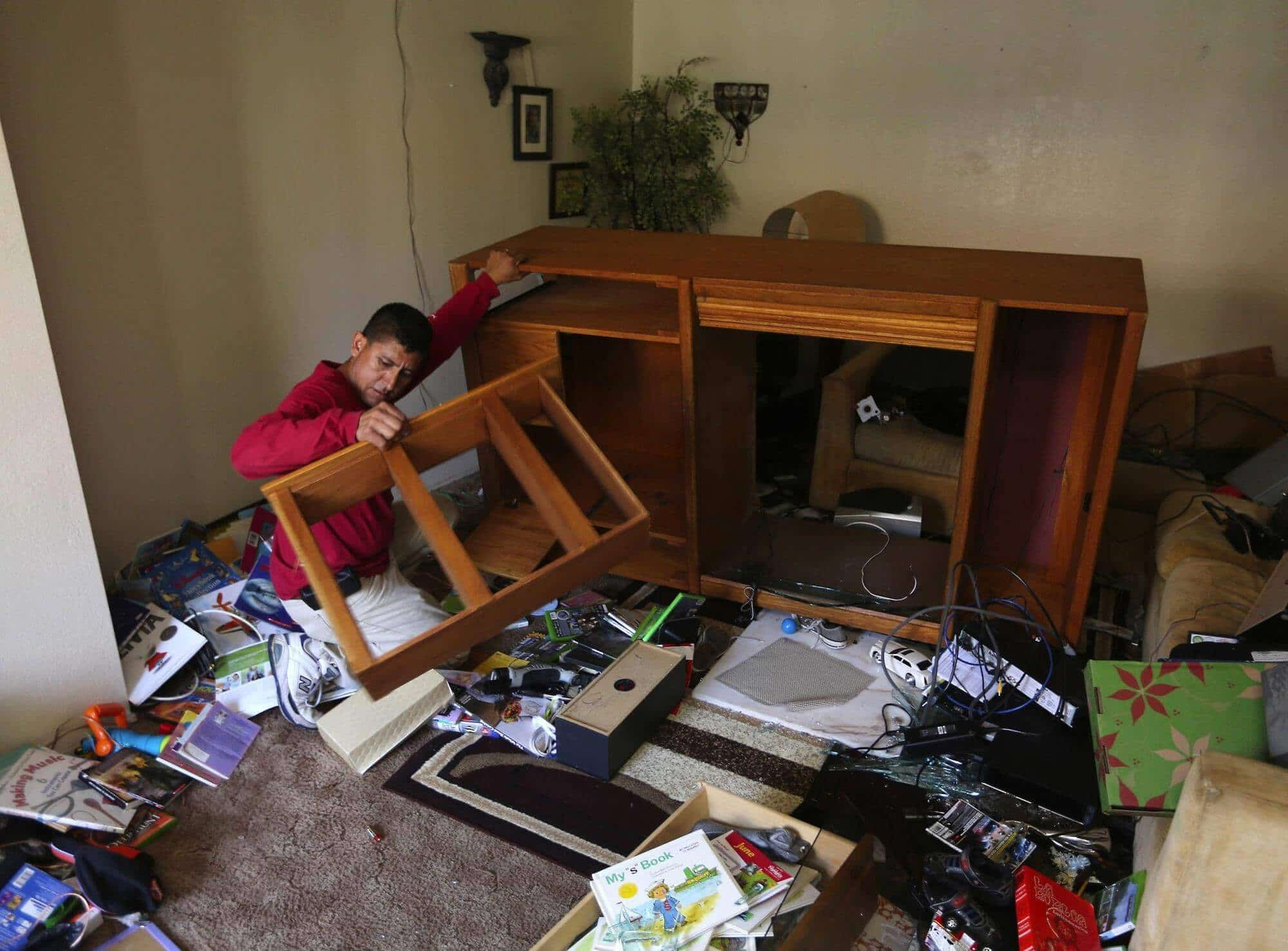 Prepare Your Home for an Earthquake