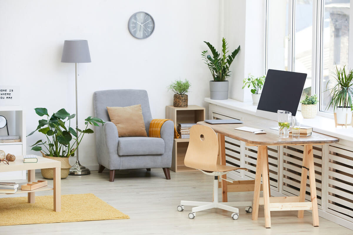 Custom Home Office Space