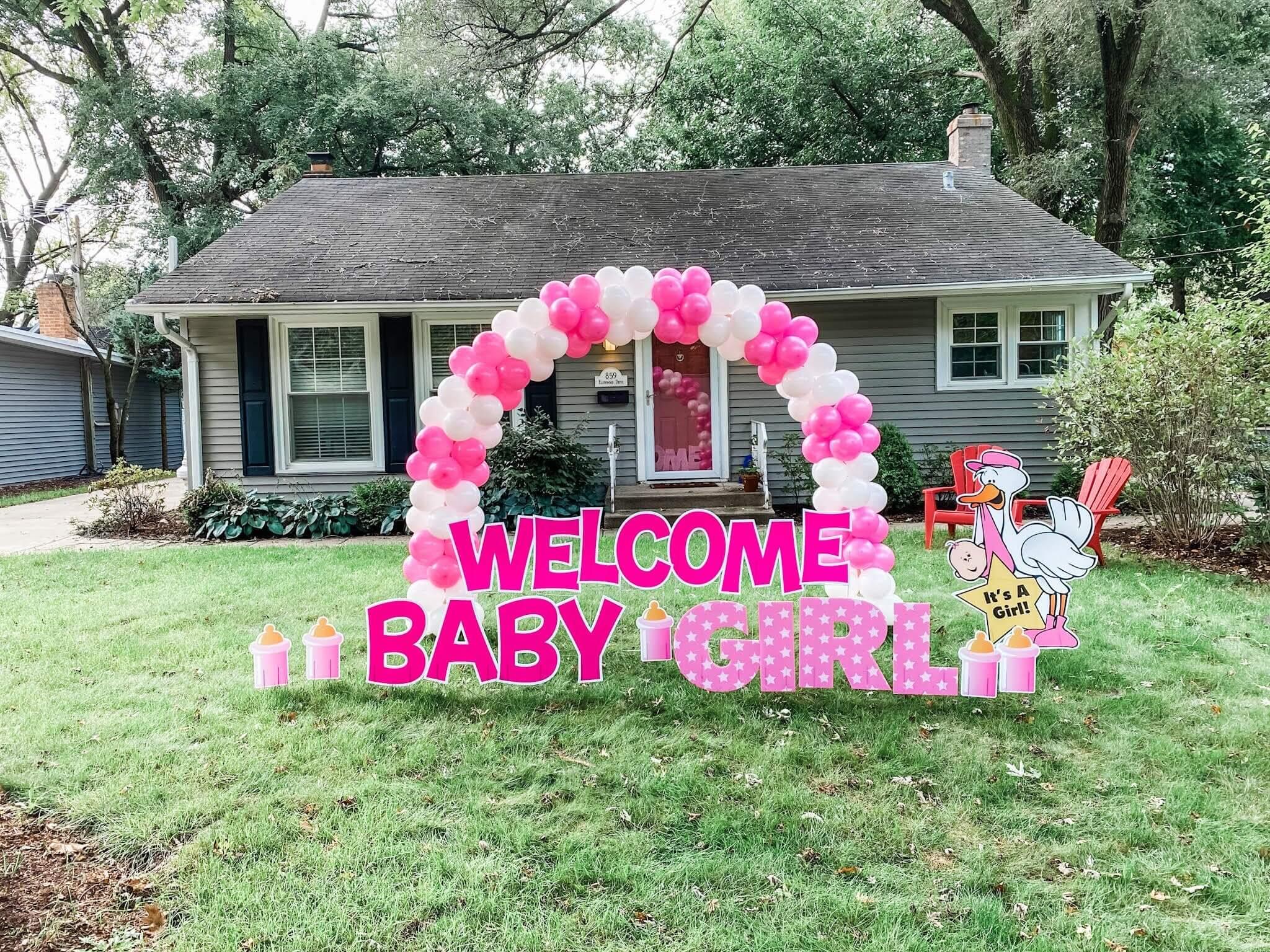 Welcome Baby Yard