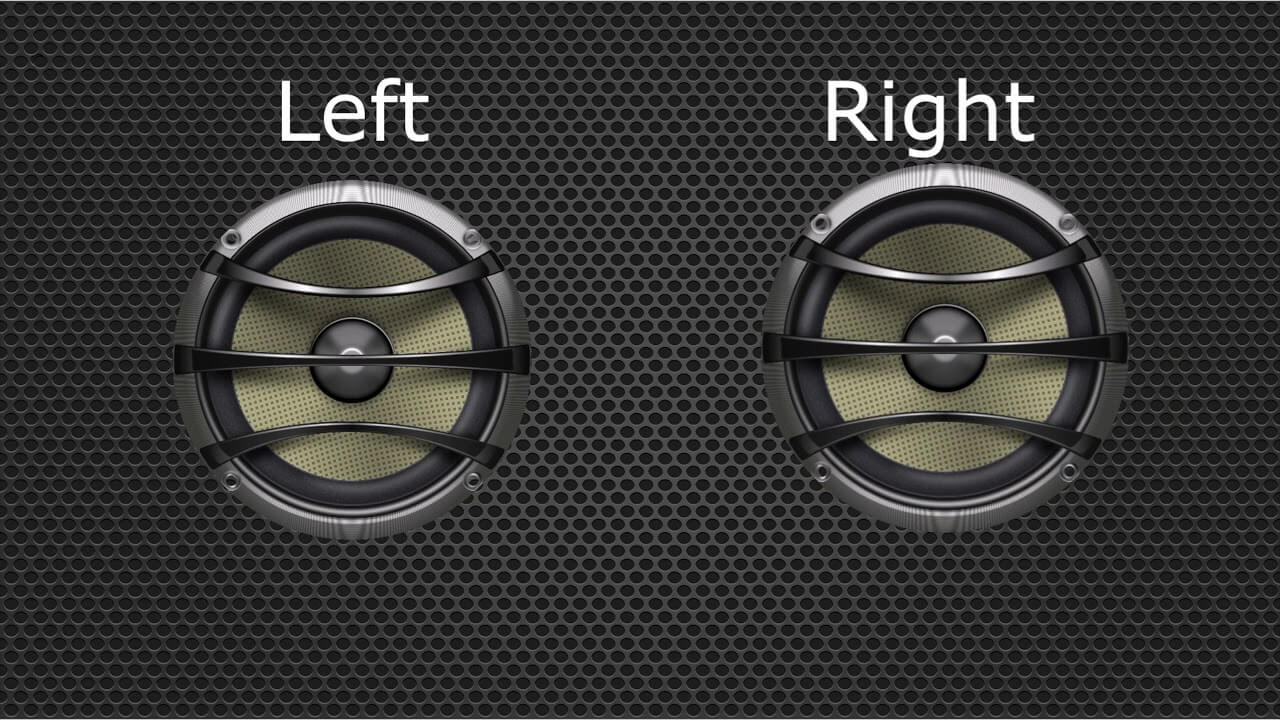When Do You Need a Left-Right Speaker Test