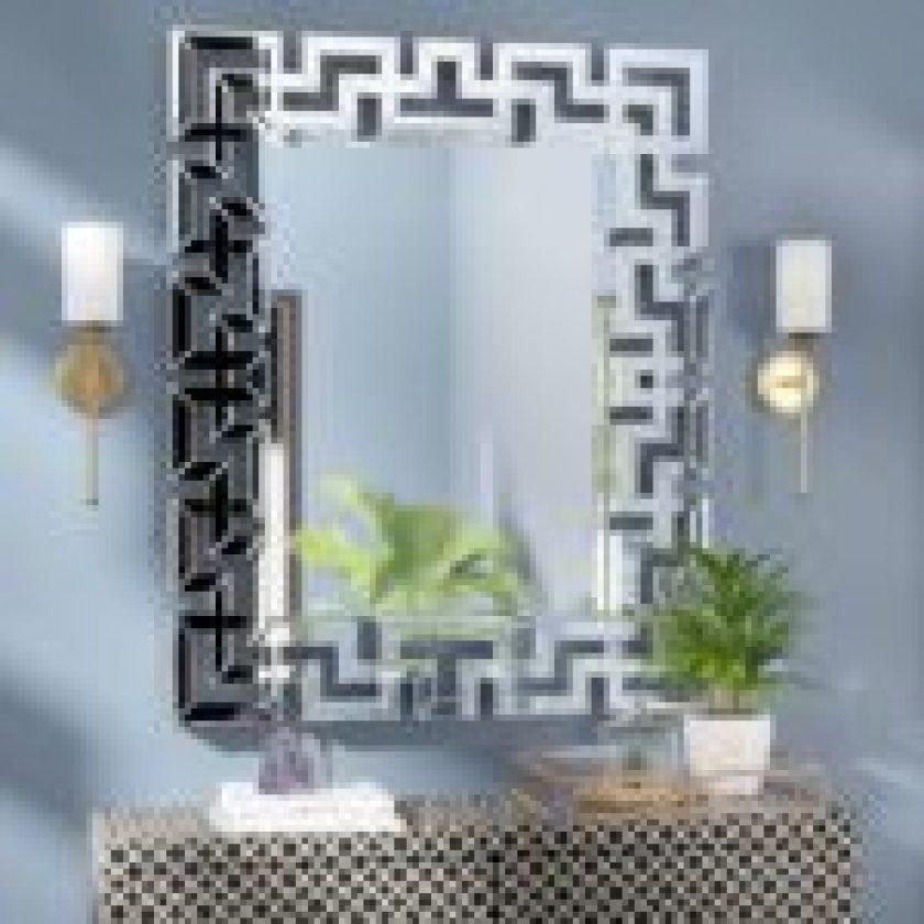 Mirror Frame Decorating Design