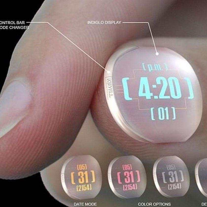 A nail watch