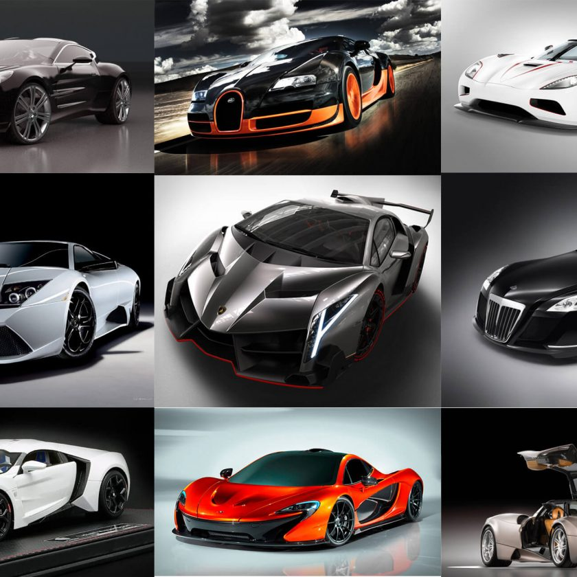 Super Fastest Cars In The World