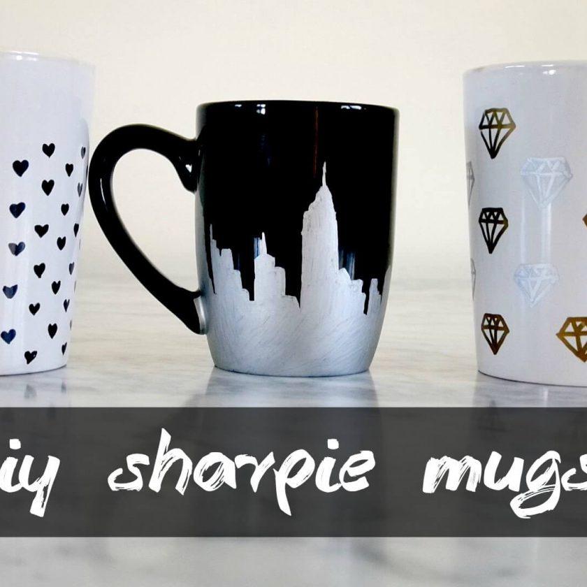 DIY sharpie mugs ideas