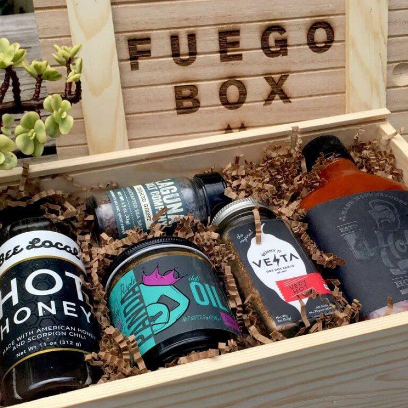 Fuego Box Gift Set