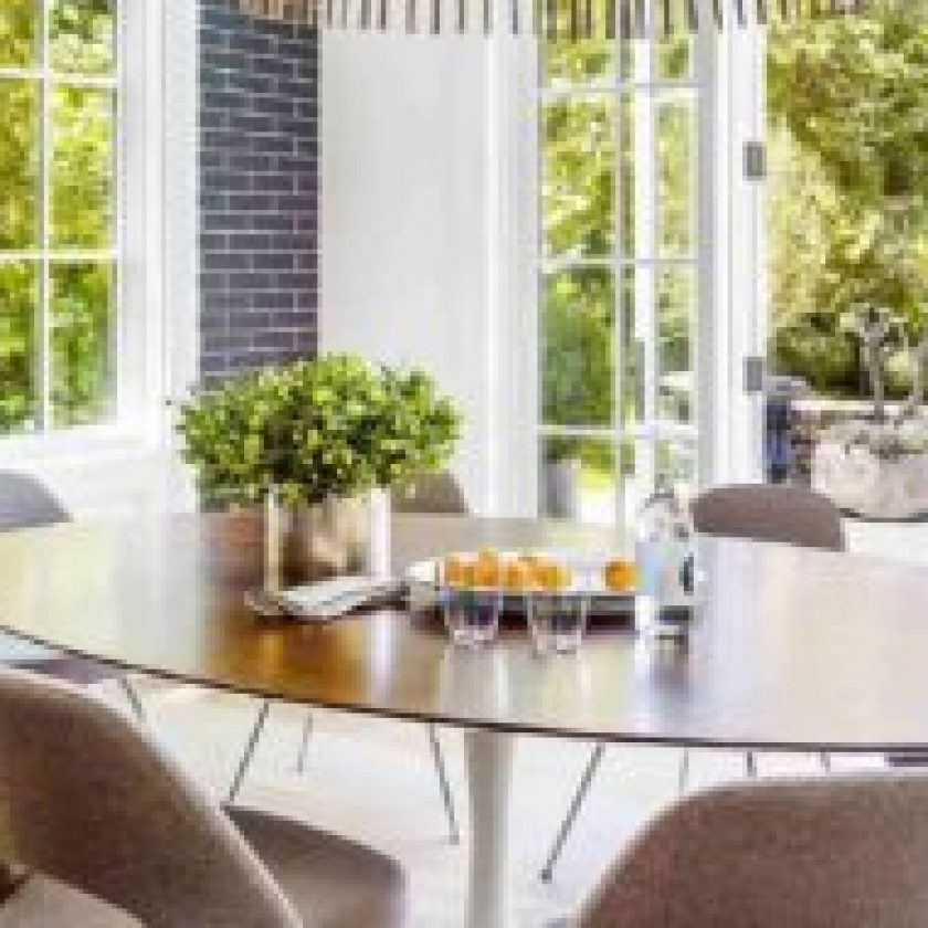 Furnish Your Dining Room for a Big Family