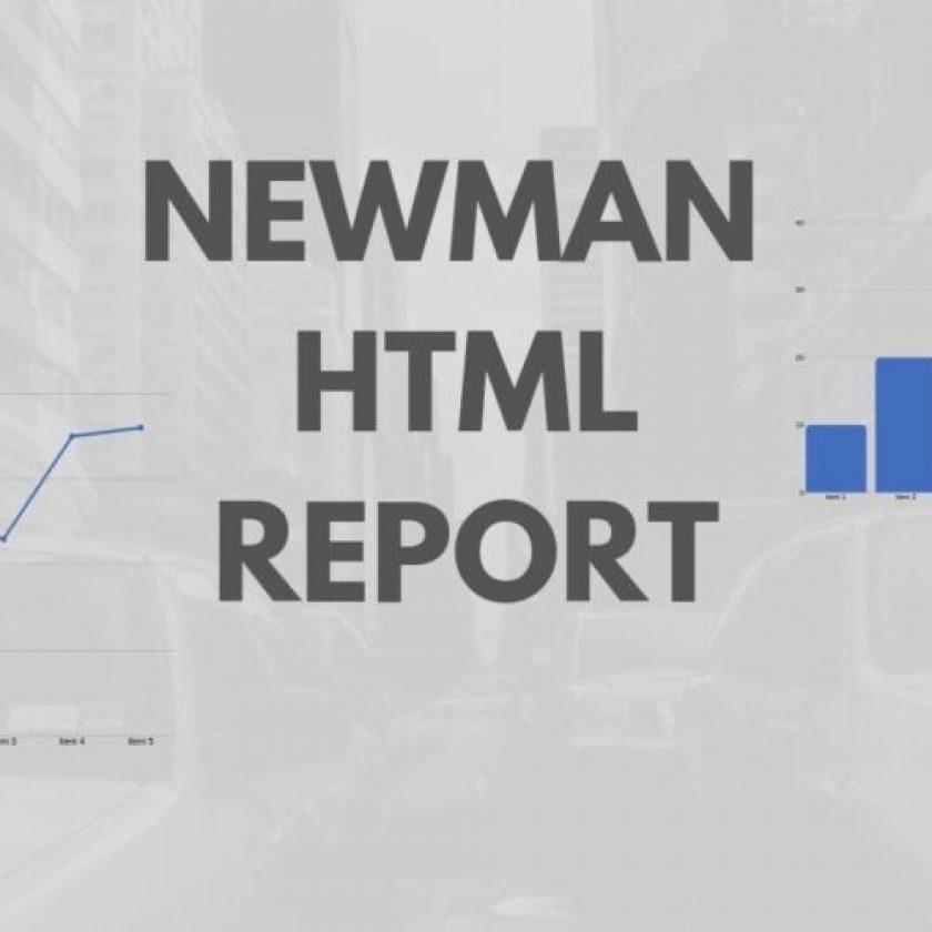 Generate Html Report In Postman