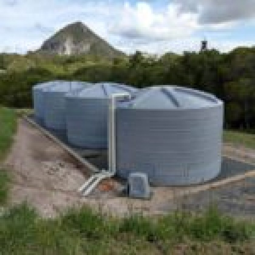 Install Water Tanks