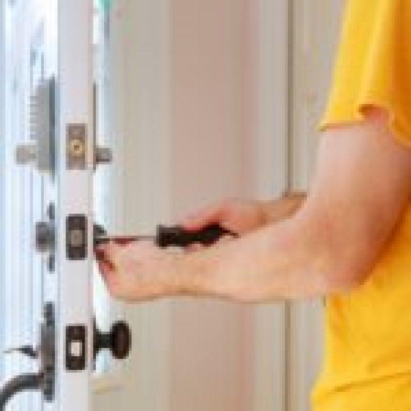 Installing a Security Door