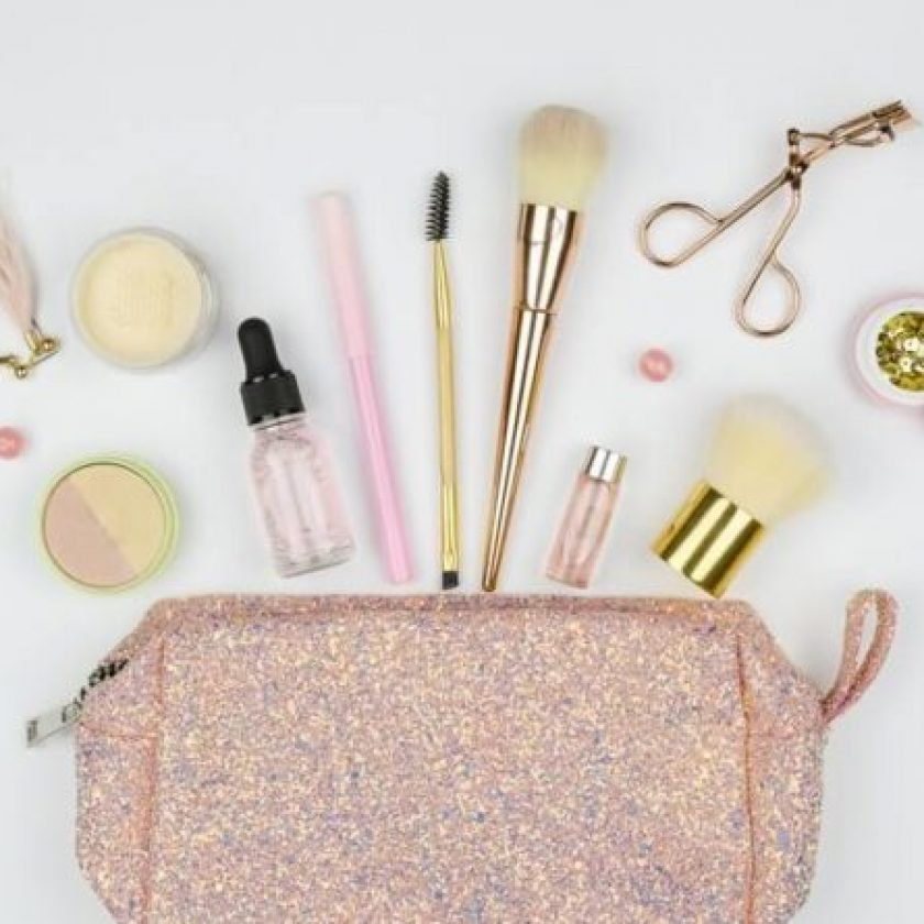 Makeup Bag on a Budget
