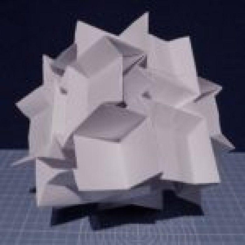 Origami Sculpture Designed by Jo Nakashima