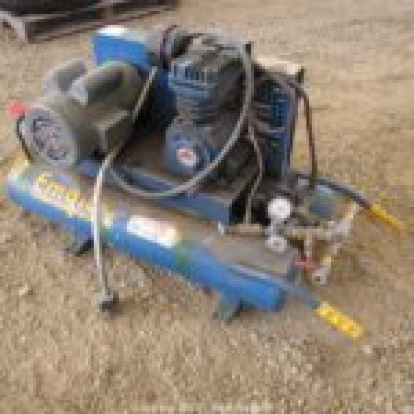 Portable Electric Twin-Stack Air Compressor