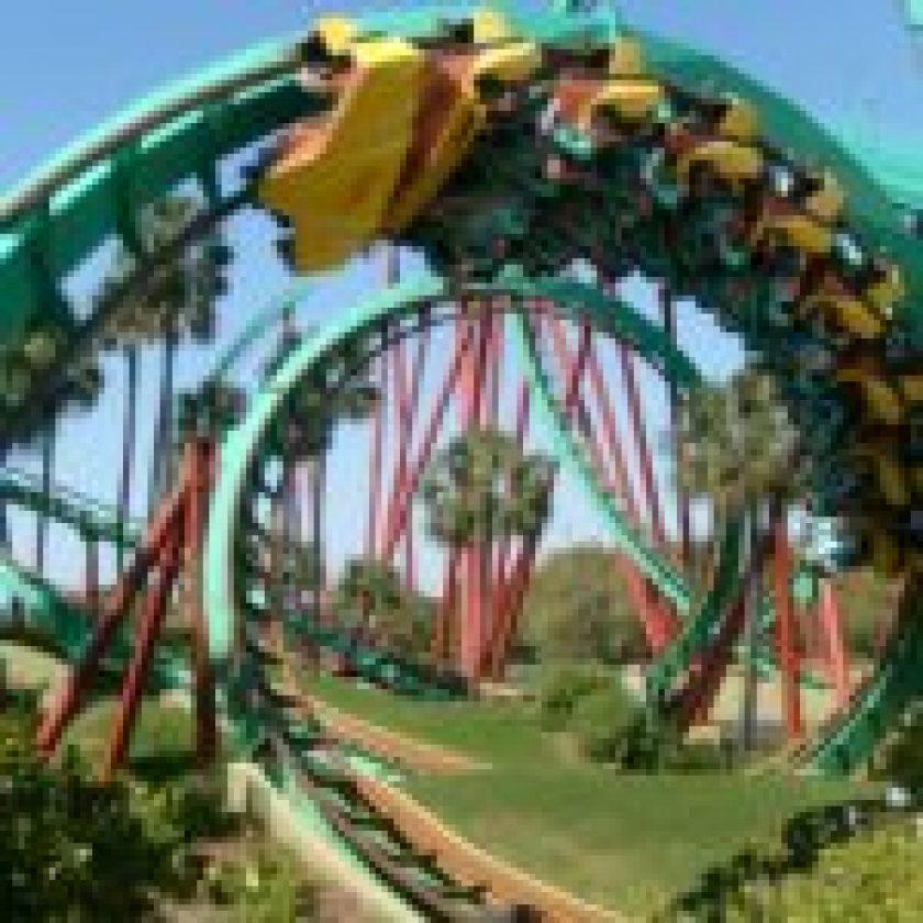 Rides at Busch Gardens Williamsburg