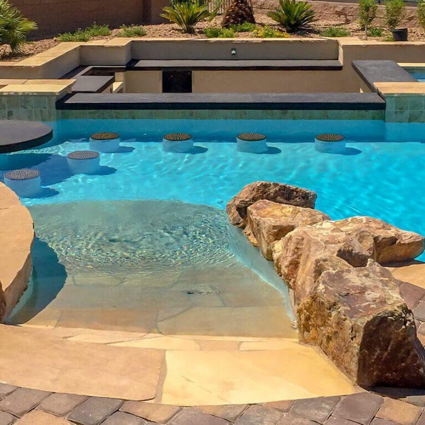 Walk in pool