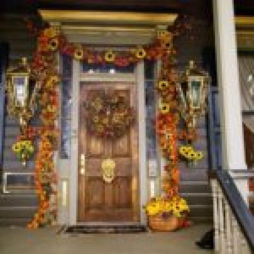 autumn Front Porch 1