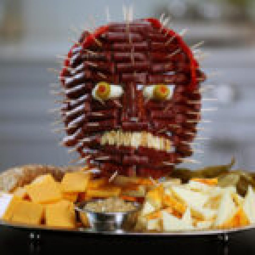 halloween food decoration