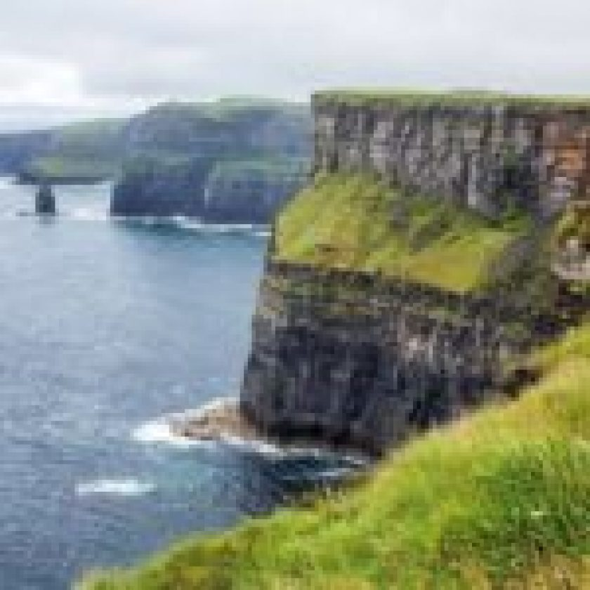 living at Cliffs of Moher, Ireland