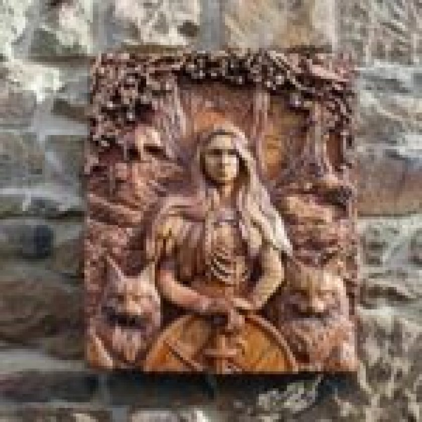 wood carving